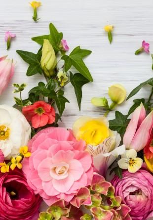 Fericirea poate fi adusă de... flori