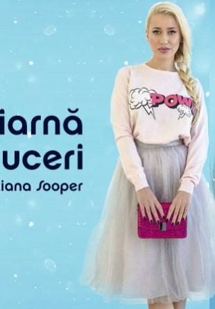Super iarnă cu reduceri: interviu cu Sînziana Sooper