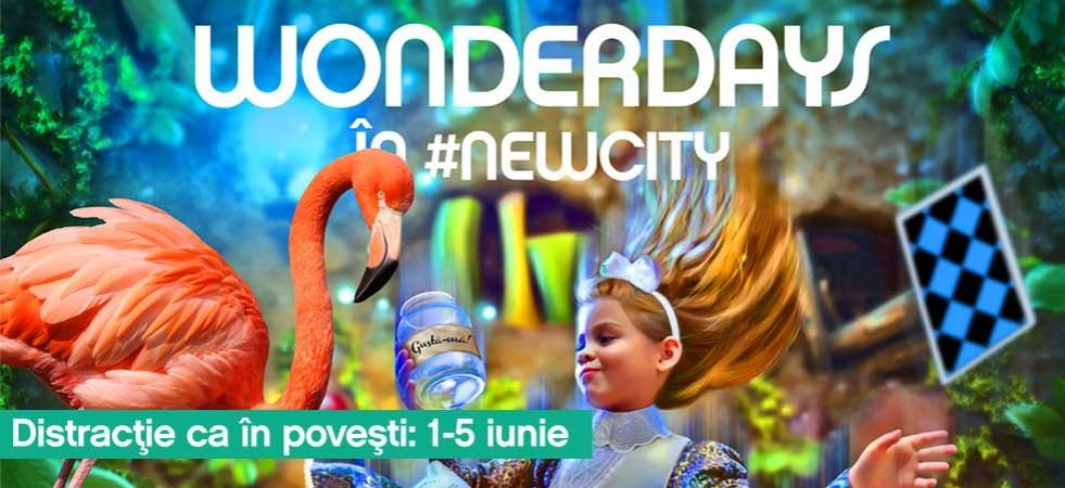 Hai și tu în Țara Minunilor: Distracție ca în povești între 1 și 5 iunie la City Park Mall!