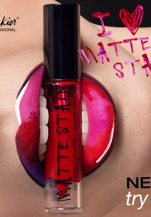 Coloreaza-ti frumos buzele cu noul Ruj Lichid Mat Melkior!