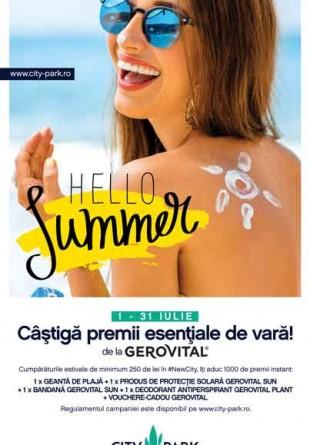 Hello Summer | Câștigă premii esențiale de vară la City Park Mall!