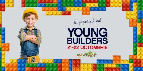 Hai pe șantierul vesel Young Builders și descoperă lumea fascinantă a cărămizilor LEGO!