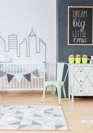 5 sfaturi pentru amenajarea camerei bebelușului